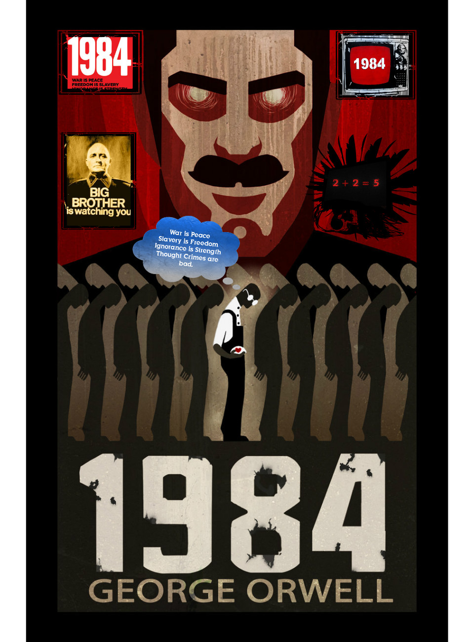 Is there sexism in the novel 1984 by George Orwell?